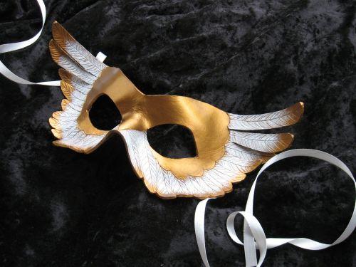 Gilded Angel Mask